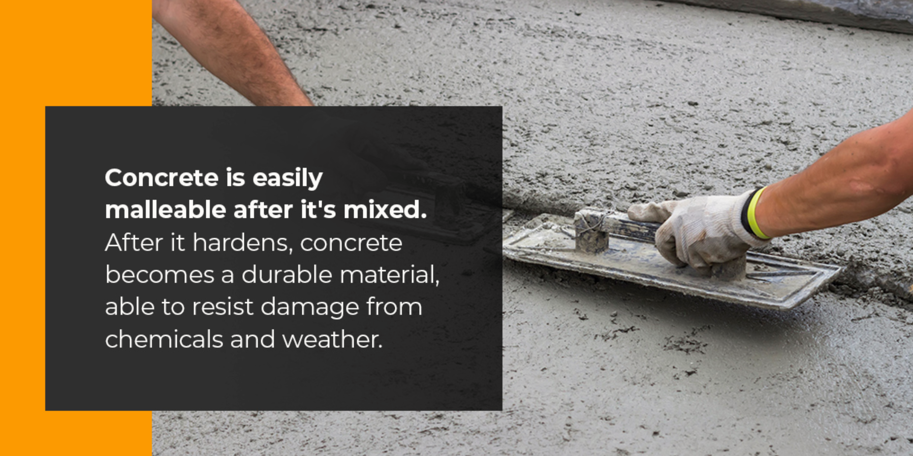 benefits of concrete