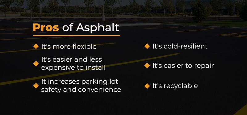 pros of asphalt