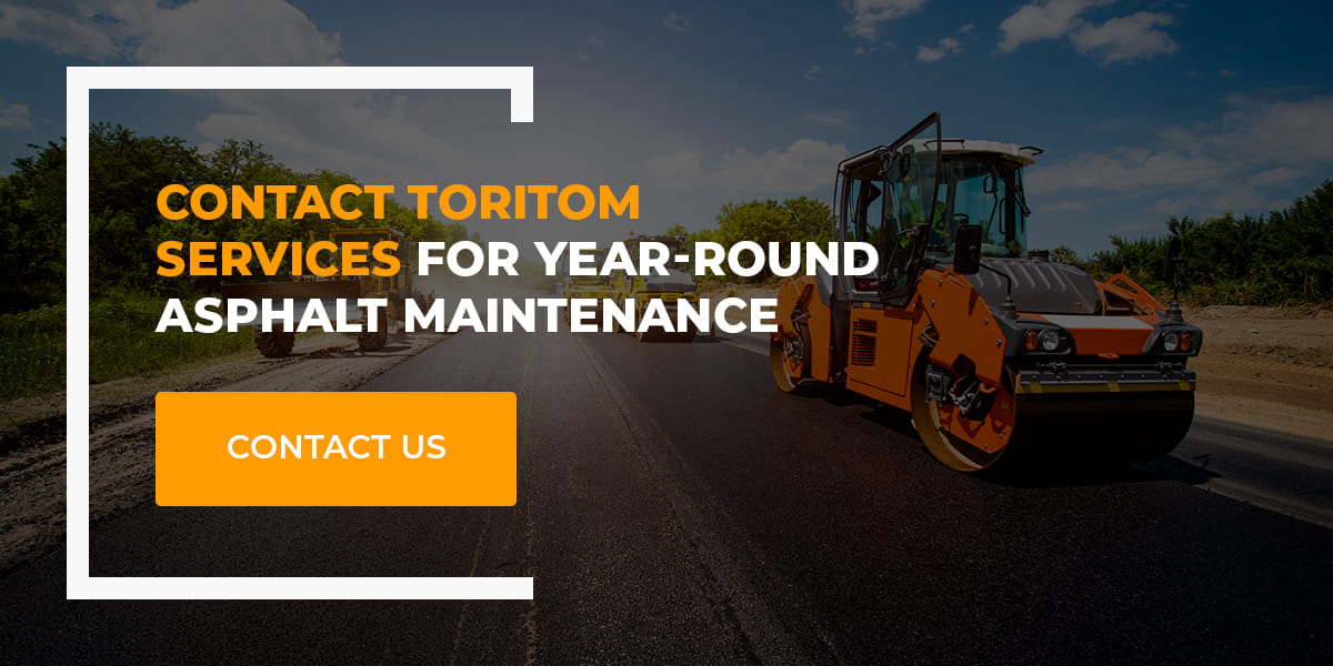 contact toritom for year round maintenance